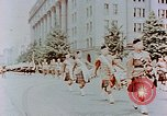Image of British forces march at Japanese Imperial Palace Plaza Japan, 1946, second 6 stock footage video 65675036525