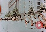 Image of British forces march at Japanese Imperial Palace Plaza Japan, 1946, second 8 stock footage video 65675036525