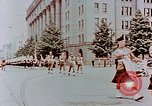 Image of British forces march at Japanese Imperial Palace Plaza Japan, 1946, second 10 stock footage video 65675036525
