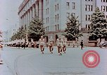 Image of British forces march at Japanese Imperial Palace Plaza Japan, 1946, second 12 stock footage video 65675036525