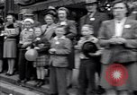 Image of crowd of civilians Fulton Missouri USA, 1946, second 3 stock footage video 65675036537