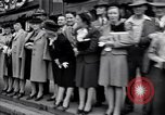 Image of crowd of civilians Fulton Missouri USA, 1946, second 4 stock footage video 65675036537