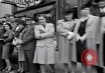 Image of crowd of civilians Fulton Missouri USA, 1946, second 5 stock footage video 65675036537