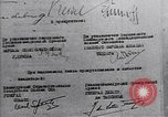 Image of Surrender document ending World War II in Europe Moscow Russia Soviet Union, 1945, second 12 stock footage video 65675036540