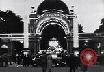 Image of Tivoli Gardens  Copenhagen Denmark, 1936, second 4 stock footage video 65675036543