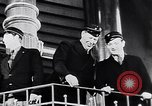 Image of Singing in Tuborg Brewery  Copenhagen Denmark, 1936, second 7 stock footage video 65675036547