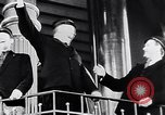 Image of Singing in Tuborg Brewery  Copenhagen Denmark, 1936, second 9 stock footage video 65675036547