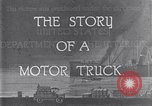 Image of Story of a Motor Truck United States USA, 1923, second 5 stock footage video 65675036571