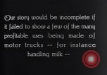 Image of General Motors Truck delivering Milk St Louis Missouri USA, 1923, second 3 stock footage video 65675036583