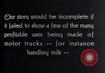 Image of General Motors Truck delivering Milk St Louis Missouri USA, 1923, second 7 stock footage video 65675036583