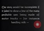 Image of General Motors Truck delivering Milk St Louis Missouri USA, 1923, second 12 stock footage video 65675036583