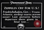 Image of Graf Zeppelin Friedrichshafen Germany, 1928, second 4 stock footage video 65675036611