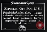 Image of Graf Zeppelin Friedrichshafen Germany, 1928, second 5 stock footage video 65675036611