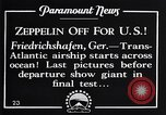 Image of Graf Zeppelin Friedrichshafen Germany, 1928, second 6 stock footage video 65675036611