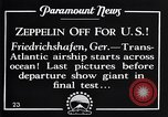 Image of Graf Zeppelin Friedrichshafen Germany, 1928, second 8 stock footage video 65675036611