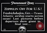 Image of Graf Zeppelin Friedrichshafen Germany, 1928, second 9 stock footage video 65675036611