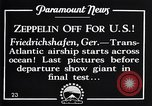 Image of Graf Zeppelin Friedrichshafen Germany, 1928, second 11 stock footage video 65675036611