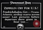 Image of Graf Zeppelin Friedrichshafen Germany, 1928, second 12 stock footage video 65675036611