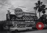 Image of Los Angeles Dodgers in Spring Training Vero Beach Florida United States USA, 1964, second 7 stock footage video 65675036636