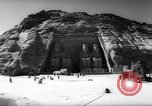 Image of ancient Egyptian temples of Pharaoh Ramses II Egypt, 1964, second 12 stock footage video 65675036643