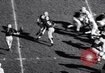 Image of Oklahoma versus Notre Dame football game 1956 South Bend Indiana USA, 1956, second 5 stock footage video 65675036654