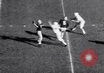 Image of Oklahoma versus Notre Dame football game 1956 South Bend Indiana USA, 1956, second 7 stock footage video 65675036654