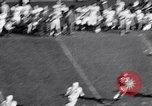 Image of Oklahoma versus Notre Dame football game 1956 South Bend Indiana USA, 1956, second 8 stock footage video 65675036654