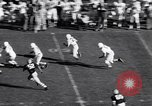 Image of Oklahoma versus Notre Dame football game 1956 South Bend Indiana USA, 1956, second 11 stock footage video 65675036654