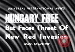 Image of Hungary attains freedom Budapest Hungary, 1956, second 1 stock footage video 65675036657