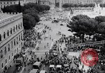 Image of student rally supporting Hungarian Revolution Rome Italy, 1956, second 8 stock footage video 65675036658