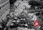 Image of student rally supporting Hungarian Revolution Rome Italy, 1956, second 10 stock footage video 65675036658