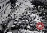 Image of student rally supporting Hungarian Revolution Rome Italy, 1956, second 11 stock footage video 65675036658