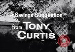 Image of Tony Curtis United States USA, 1956, second 5 stock footage video 65675036661