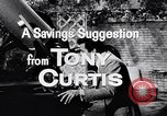 Image of Tony Curtis United States USA, 1956, second 6 stock footage video 65675036661