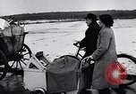 Image of civilians migrate Hungary, 1956, second 12 stock footage video 65675036664