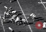 Image of football match Los Angeles California USA, 1956, second 10 stock footage video 65675036667