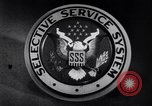 Image of Selective Service System United States USA, 1948, second 2 stock footage video 65675036669