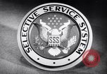 Image of Selective Service System United States USA, 1948, second 3 stock footage video 65675036669