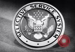 Image of Selective Service System United States USA, 1948, second 4 stock footage video 65675036669