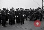 Image of USS Saratoga CV-3 launching Camden New Jersey USA, 1925, second 4 stock footage video 65675036680