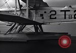 Image of T3M-2 floatplane on USS Saratoga CV-3 Pacific Ocean, 1929, second 12 stock footage video 65675036683