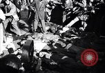Image of dead body of Mussolini Milan Italy, 1945, second 5 stock footage video 65675036686
