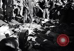 Image of dead body of Mussolini Milan Italy, 1945, second 6 stock footage video 65675036686