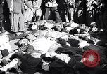 Image of death of Mussolini Milan Italy, 1945, second 7 stock footage video 65675036687