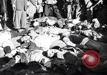 Image of death of Mussolini Milan Italy, 1945, second 8 stock footage video 65675036687