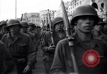 Image of Allied troops marching Genoa Italy, 1945, second 10 stock footage video 65675036691