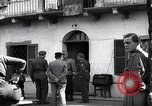 Image of German officer surrenders to British officers Ivrea Italy, 1945, second 8 stock footage video 65675036694
