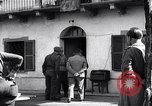 Image of German officer surrenders to British officers Ivrea Italy, 1945, second 12 stock footage video 65675036694