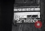 Image of British soldiers visiting Venice Venice Italy, 1945, second 2 stock footage video 65675036697