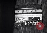 Image of British soldiers visiting Venice Venice Italy, 1945, second 3 stock footage video 65675036697